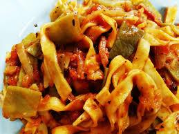 comment cuisiner les haricots plats tagliatelles fraîches haricots plats recettes cookeo