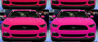 a pink mustang 2015 ford mustang gt custom colorizer