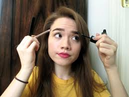 How To Color In Eyebrows How To Pencil Over Eyebrows U2013 World Novelties Makeup 2017
