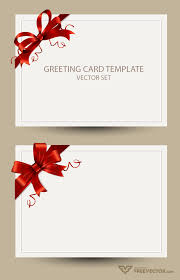 thanksgiving card templates freebie greeting card templates with red bow u2013 ai eps psd u0026 png