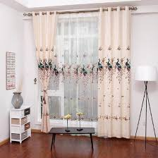 Soundproofing Curtain Teal Peacock Luxury Thermal Soundproof Embroidered Curtains