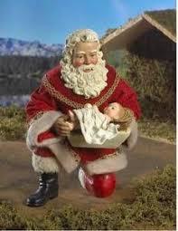 santa kneeling at the manger santa kneeling baby jesus clipart clipart collection o holy