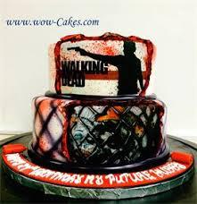 walking dead cake ideas wow cakes birthday cakes