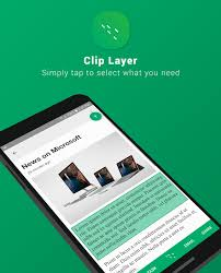 new microsoft garage mobile app clip layer provides easy sharing