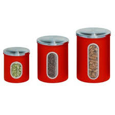 vintage kitchen canister sets kitchen canisters jars you ll wayfair