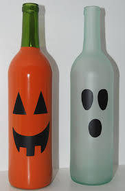 Halloween Glass Ornaments by 15 Ways To Upcycle Empty Wine Bottles