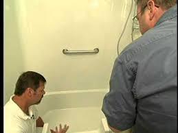 Bathroom Rails Grab Rails Bathroom Safety Installing Grab Bars U0026 The Easy Step Youtube