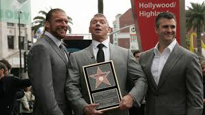 how much heat is there between shane mcmahon and triple h