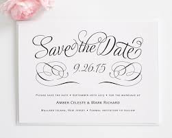 save the date cards free charming script save the date cards best template deisgning white
