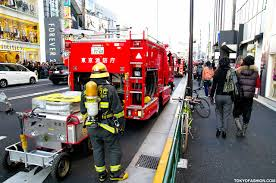 Firefighter Boots Store by Japanese Firemen At G2 Resale Shop In Harajuku