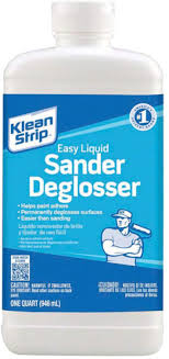 how to paint kitchen cabinets using liquid sandpaper klean qwn285 quart easy liquid sander deglosser