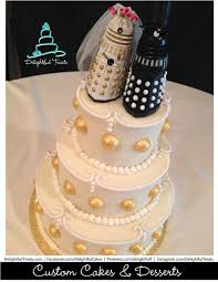 Buy Wedding Cake Going To Buy Dalek Figures And Repaint Them For Wedding Cake