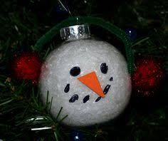 christmas ornament crafts for kids to make u0026 give sixty second