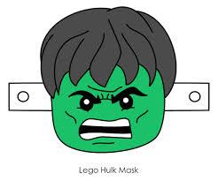 masks clipart hulk pencil color masks clipart hulk