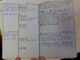 week at a glance bullet journal i really like this set up