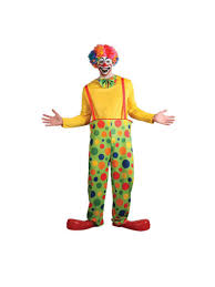 funny clown circus fun fancy dress costume mens gents male