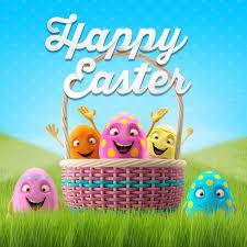 happy easter eggs merry 3d set series happy