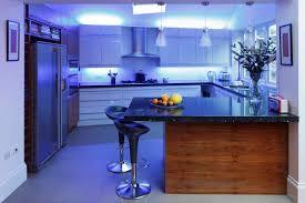 Kitchen Led Lighting Under Cabinet by Kitchen Modern Led Lighting Refrigerator Design Flush Mount