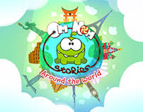 Stories From Around The World Backgrounds For Om Nom Stories Around The World On Behance
