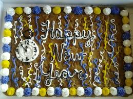 Happy New Year Cake Decorations by 86 Best Cookie Cake Ideas Images On Pinterest Birthday Ideas