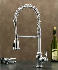 Faucets For Kitchen Sinks Chrome Pull Kitchen Sink Faucet W Spray Hose Pull