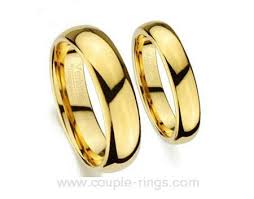 wedding rings gold couples yellow gold tungsten carbide wedding bands for men and