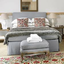 Double Bed Designs Catalogue Linen Valance Double Bed Oka