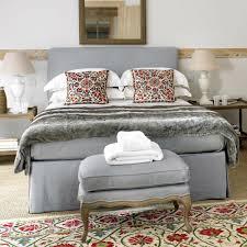 double bed linen valance oka