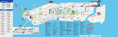 New York City On A Map by Tickets To All Around Town Plus Statue Of Liberty Ticmate Com