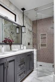 Glass Tile Bathroom Designs Bathroom Qr Black White Tile Classy Bathroom Decorating Nifty