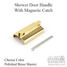 Magnetic Shower Door Latch Door Handle W Magnetic Catch Choose Color