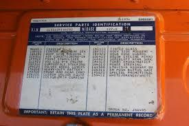 hugger orange paint code the 1947 present chevrolet u0026 gmc