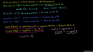 review of trig angle addition identities video khan academy