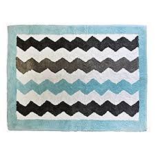 amazon com my baby sam chevron rug aqua gray nursery rugs baby