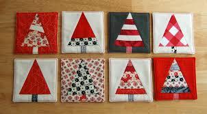 week four christmas tree coasters pattern olivia jane