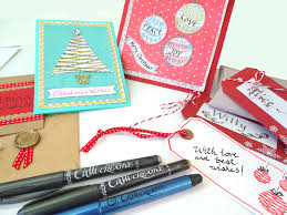 how to make beautiful calligraphy christmas cards