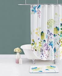 Botanical Shower Curtains Bluebellgray Botanical Garden Cotton Shower Curtain Shower