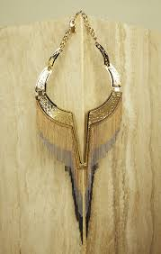 collar necklace images Chain fringe plate collar necklace jpg