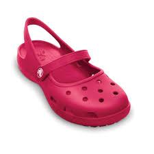 crocs shayna raspberry a mary jane style croslite sling back shoe
