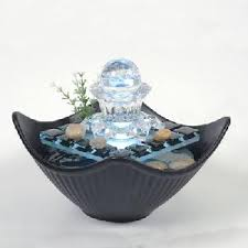 Home Decor Fountain Rolling Ball Glass Fountain Feng Shui Office Home Decor Page 1
