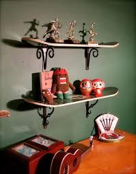 Skateboard Bedroom Ideas Astonishing Skateboard Deck Shelves Pics Design Ideas Tikspor