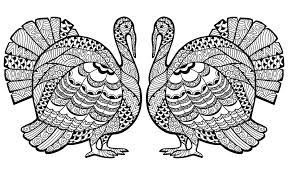 printable thanksgiving coloring pages for adults u2013 happy thanksgiving