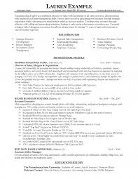 Achievements In Resume Sample by Director Resume