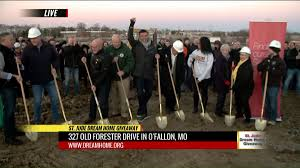 www dreamhome com crews break ground on o fallon dream home fox2now com
