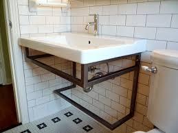 mid century modern sink base metal wrought iron welding ho u2026 flickr