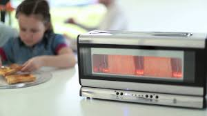 See Theough Toaster Russell Hobbs Uk Glass Line Toaster Youtube