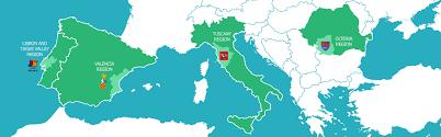 Tuscany Italy Map Tuscany Italy Regions Cluster Dorothy