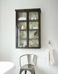 Bathroom Furniture London by Objects Of Design 160 Glass Fronted Wall Cabinet Mad About The