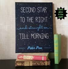 Peter Pan S Home by Peter Pan Nursery Decor Second Star To The Right Glow In