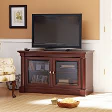 willow mountain cherry tv stand with mount for tvs up to 37